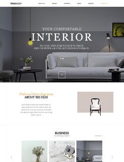 인테리어/건축/분양 홈페이지제작 : T1024001
